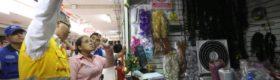 Cierran locales de 3 galerías de Mesa Redonda por inseguras